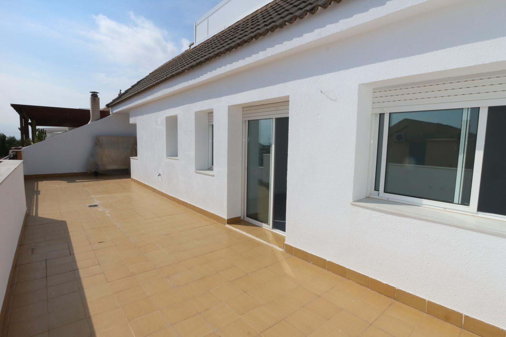 Exclusivo ático en el centro de San Javier, con terraza de 50 m2.