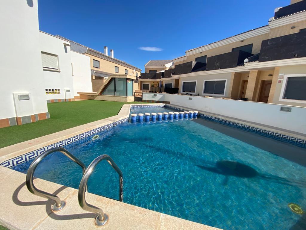 Duplex en San Javier con Piscina comunitaria y Sotano